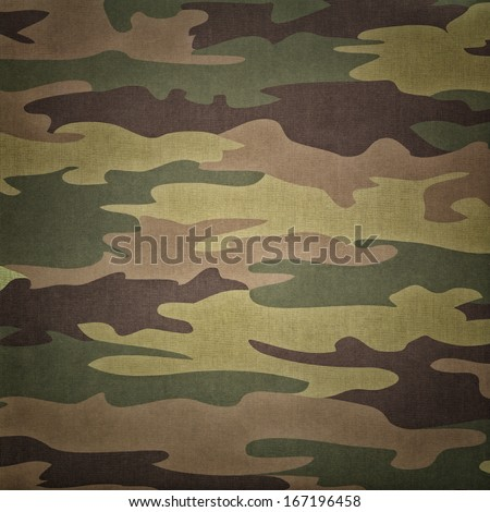 Military camouflage pattern - stock photo
