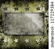 Military Grunge background with place for text - stock photo