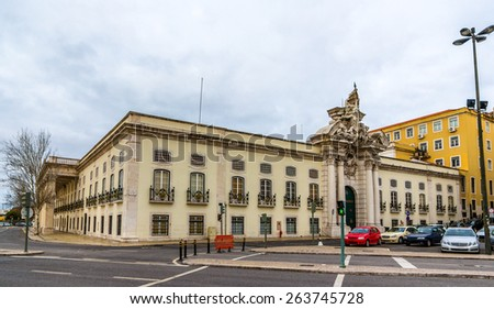 Military Museum in Lisbon - Portugal - stock photo