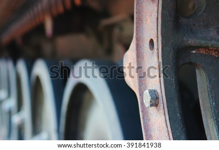 Military tank close up. - stock photo
