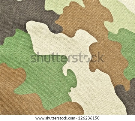 Military texture - camouflage - stock photo