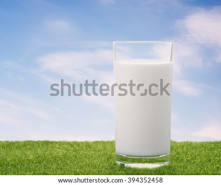 Milk - stock photo