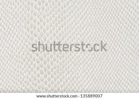 Milk artificial leather snake texture background(Cobra)