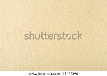 milk-colored bright leather texture - stock photo