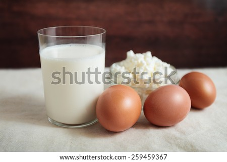 milk egg grainy curd health calcium dairy products useful village rural Breakfast