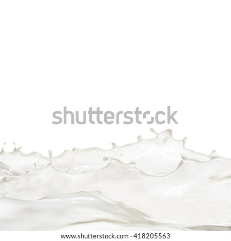 Milk Splash and Milk Wave
