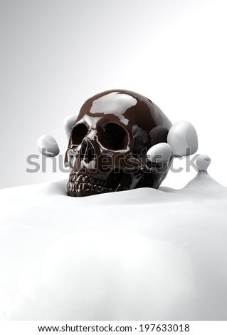 Milk & Sugar  - stock photo