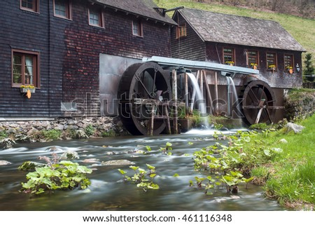 mill Hexenloch in the black forest in Germany