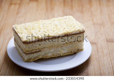 Mille-feuille  - stock photo