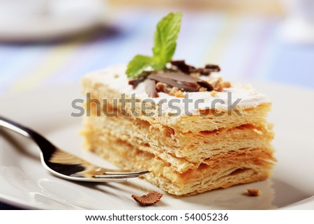Millefoglie - stock photo