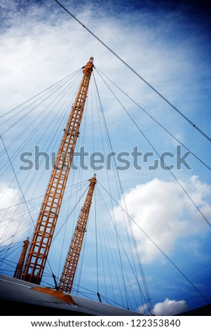 Millennium Dome Greenwich Peninsula, London England UK - stock photo