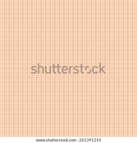Millimeter engineering paper. - stock photo