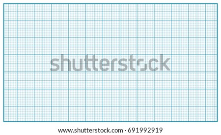 millimeter paper blue graphing paper education stock illustration