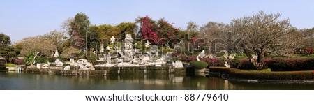 Million Stones Park - stock photo
