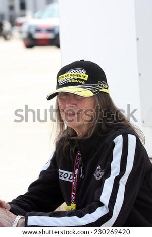 Milwaukee Wisconsin, June 17, 2011: Mari Hulman George. Chairman of the Indianapolis Motor Speedway and Hulman & Company - stock photo