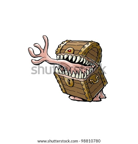 Mimic - stock photo
