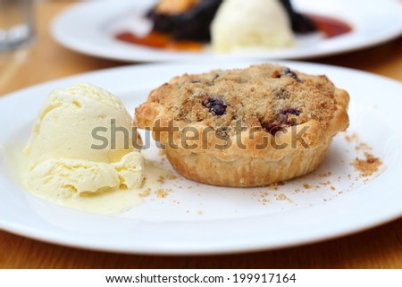 Mince Pie - stock photo