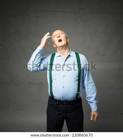 mind forgetting concept - stock photo