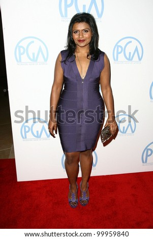 Mindy Kaling  at the 22nd Annual Producers Guild Awards, Beverly Hills, CA. 01-22-11