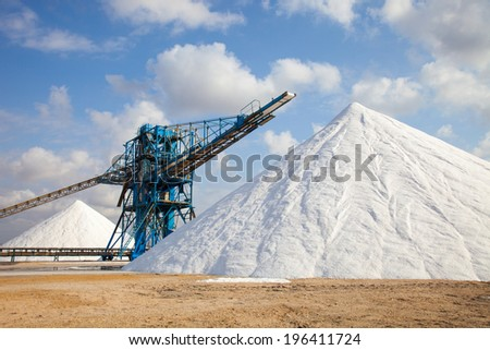mine's surface in the South of Spain - stock photo
