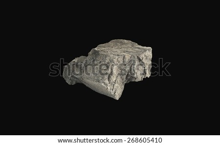 mineral coal - stock photo