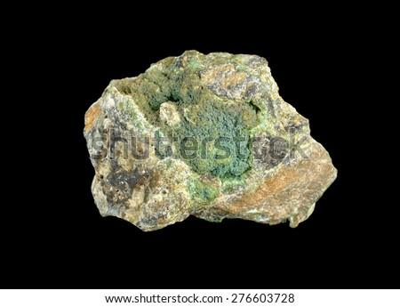 mineral Garnierite - stock photo