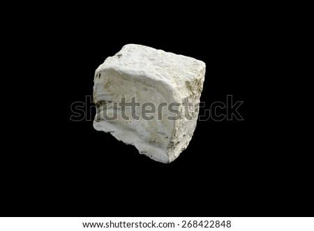 mineral  kaolin - stock photo