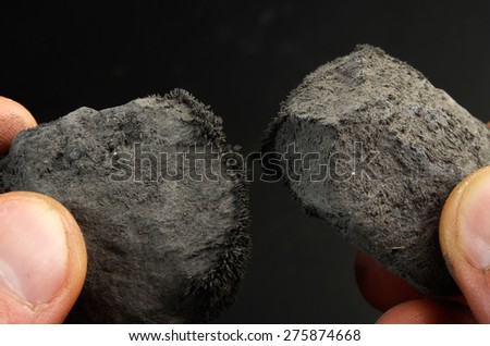 mineral Magnetite - stock photo