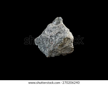 mineral Nepheline - stock photo