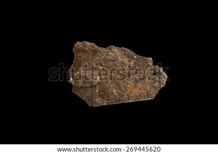 mineral  peat - stock photo
