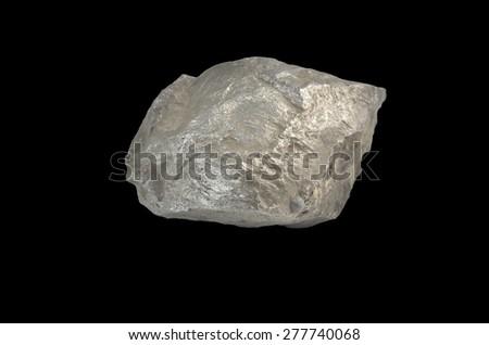 mineral Pentlandite (iron-nickel) - stock photo