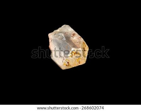 mineral quartz - stock photo