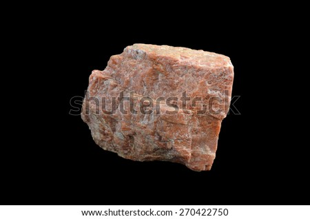 mineral quartz - stock photo