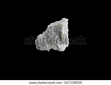 mineral talc - stock photo