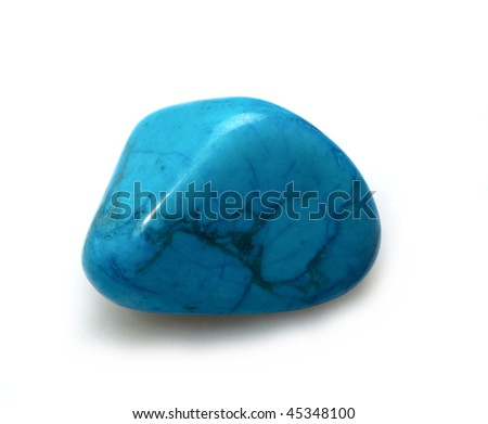 Mineral turquoise. - stock photo