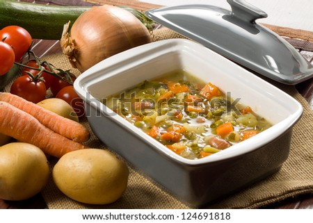 Minestrone - Italian vegetable soup