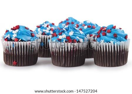 Mini Cupcakes - stock photo