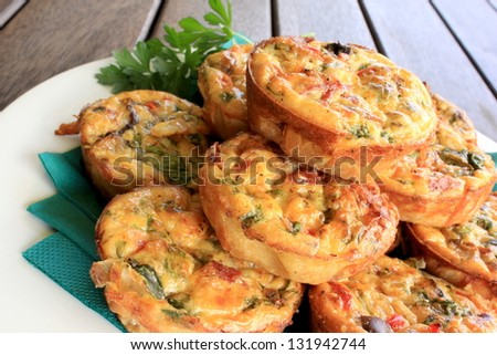 Mini Quiches 2 - stock photo