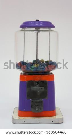 mini toy vending machine - stock photo