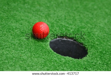 Miniature Golf - stock photo