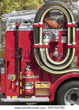 Miniature of the Fire Truck