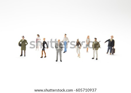 miniature people (toy)