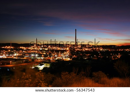 Mining city Mount Isa, Queensland, Australia - stock photo