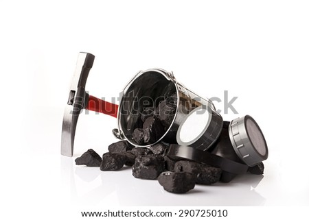 mining conceot - stock photo