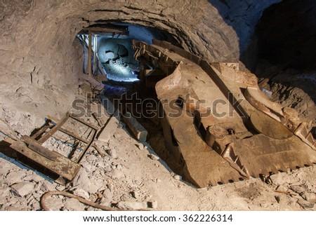 mining equipment - stock photo