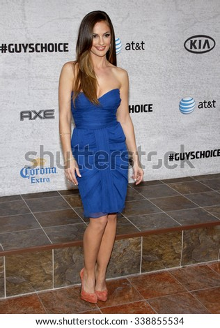 "Minka Kelly at the Spike TV's 5th Annual 2011 ""Guys Choice"" Awards held at the Sony Pictures Studios in Los Angeles, California, United States on June 4, 2011."
