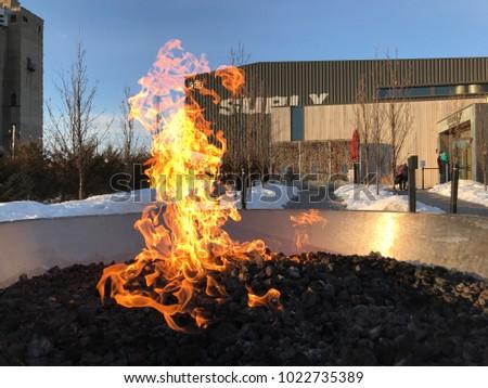 Minneapolis Mnusa February 11 2018 Exterior Stock Photo (Royalty ...