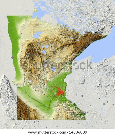 Usa Relief Map Stock Images RoyaltyFree Images Vectors - Relief map us