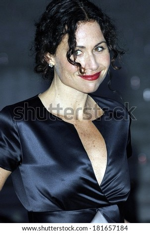 Minnie Driver at Vanity Fair Party for the 6th Annual Tribeca Film Festival, New York State Supreme Courthouse, New York, NY, April 24, 2007 - stock photo