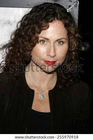 "Minnie Driver attends ""The Queen"" Los Angeles Premiere held at the Academy of Motion Picture Arts and Sciences in Beverly Hills, California on October 3, 2006.  - stock photo"